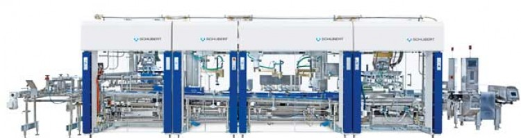 Top precision BRECOFLEX timing belt drives in TLM-F4 robots
