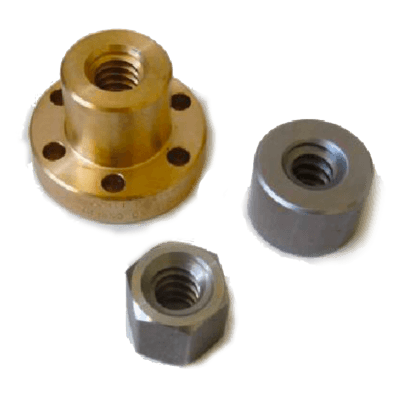 Trapezoidal Nut Type MES – Hexagonal in Steel