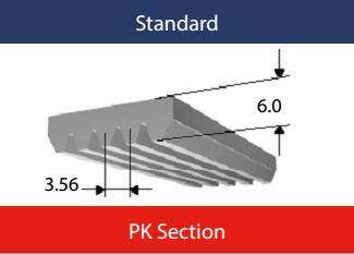 PK Section Poly V
