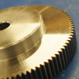 Metric Spur Gears in Stainless Steel 1.0 MOD, 20° P.A
