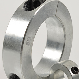 Metric Bore Single Split Shaft Collars (Steel & Stainless Steel)