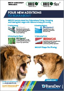 BRECO Belting New Editions Leaflet