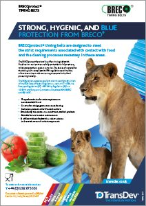 BRECOprotect Food Belts Leaflet